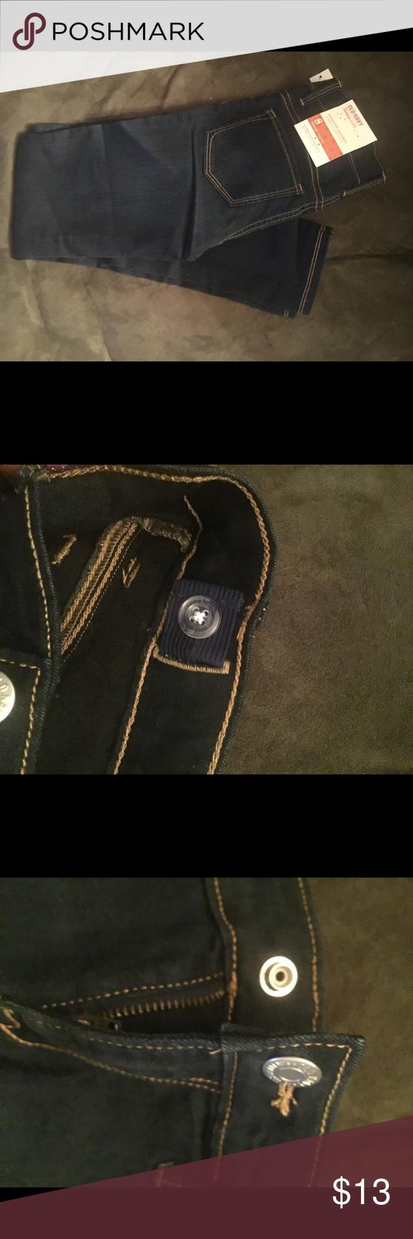 Girls denim jeggings Old Navy Girls size 8Regular Rockstar Jeggings. BNWT Old Navy Bottoms Jeans