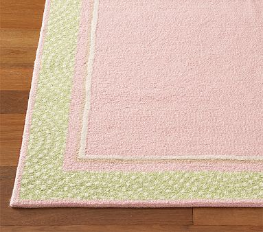 Pink And Green Theme I Love This Rug