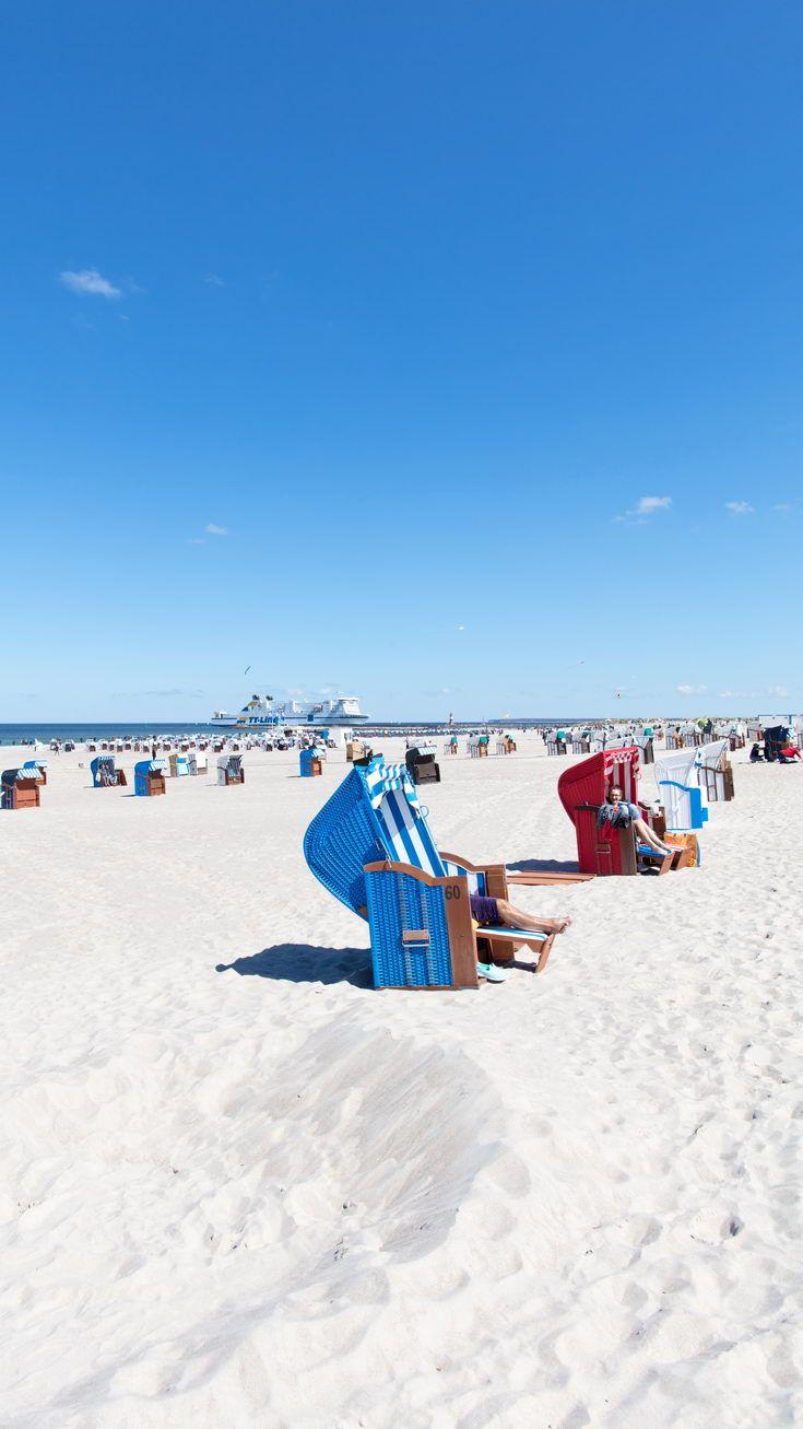 Ostsee Strand in Rostock Warnemünde Ostsee strand
