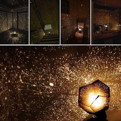 553cfd7b388 Romantic Astro Planetarium Star Celestial Projector Cosmos Light Night Sky  Lamp