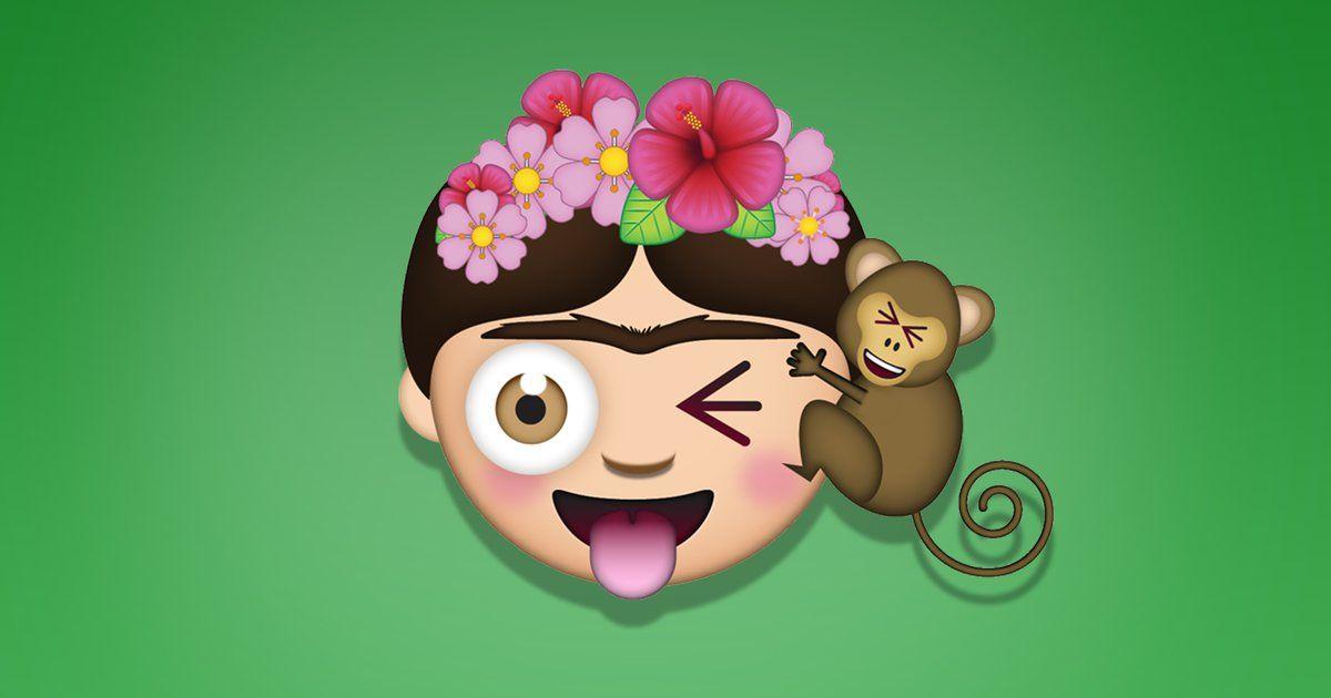 Los rostros de Frida Kahlo serán 'emojis', o mejor dicho, 'FridaMojis'