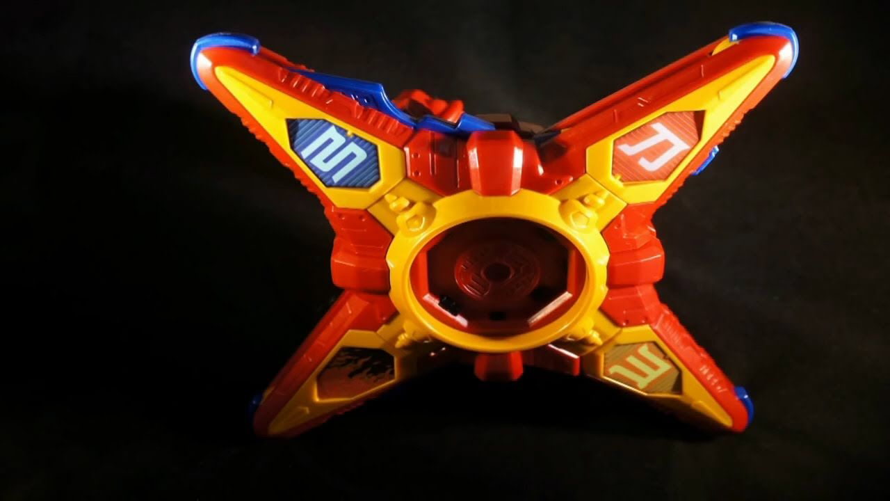 Ninninger - Sandan Ningeki Karakuri Hengen (Ninja Star Morpher in Power ...  | Power rangers ninja, Power rangers ninja steel, Power rangers