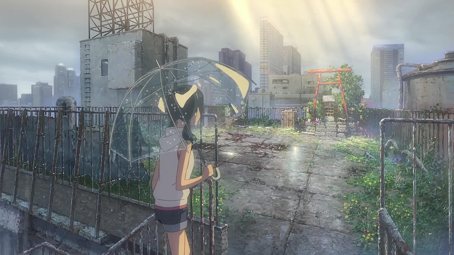El tiempo contigo (2019) en 2020 Paisajes anime
