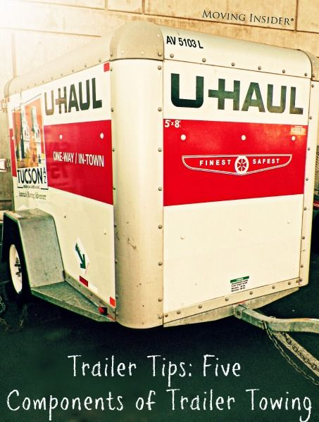 Trailer Tips: 5 Components of Trailer Towing | Moving truck rental, Moving,  storage, Tow truck