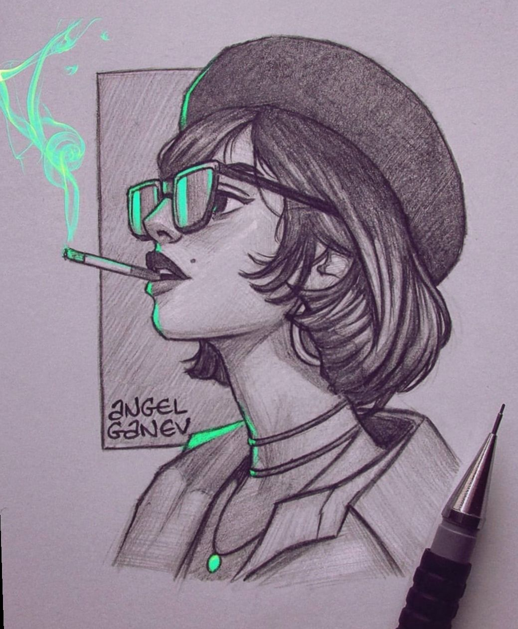 15 Anime Sketch Pencil Poses Glowing Art Girl Drawing Sketches Sketches