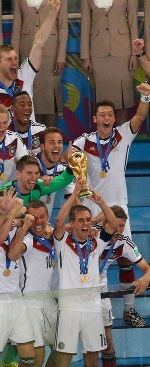 2014 FIFA World Cup - Germany world champion ! 1954/1974/1990/2014