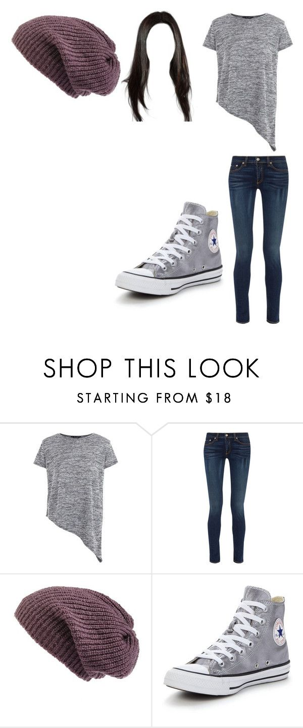 """""""Untitled #12073"""" by iamdreamchaser ❤ liked on Polyvore featuring rag & bone, Caslon and Converse"""
