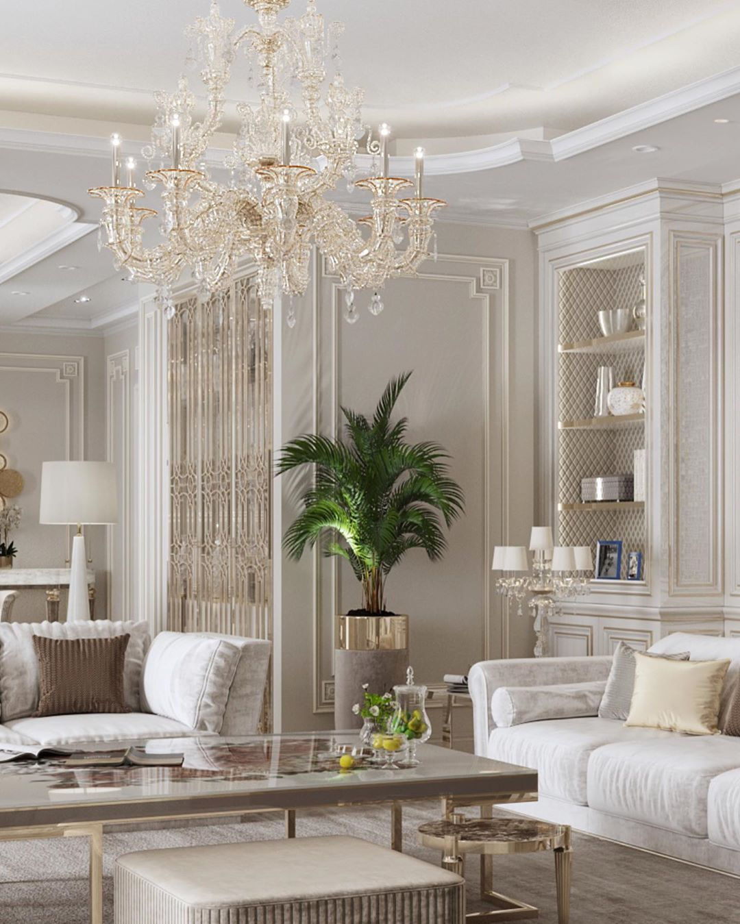 love the color palette and champagne accents and the