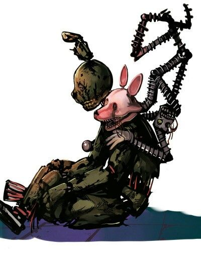 FNAF 3 Springtrap and Mangle on tumblr | Five nights at