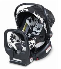 Adorable Cow Print Carseat Perfect For Baby Girl Or Boy