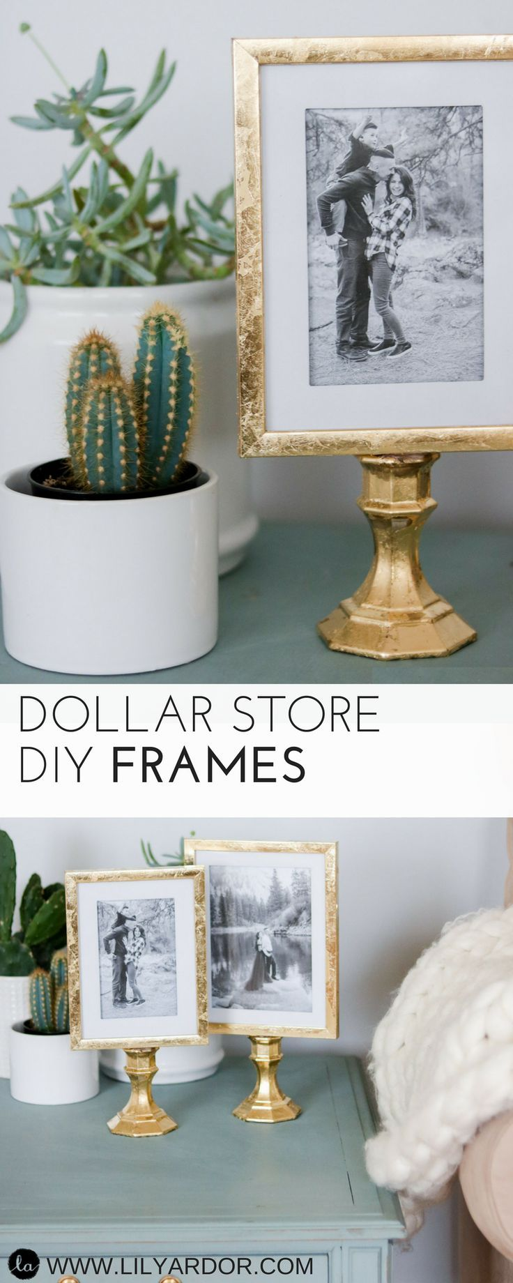 5 Dollar Store Hacks for Home Decor and Kitchen Organization | Pinterest