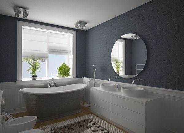 Hervorragend Badezimmer Grau U2013 50 Ideen Für Badezimmergestaltung In Grau