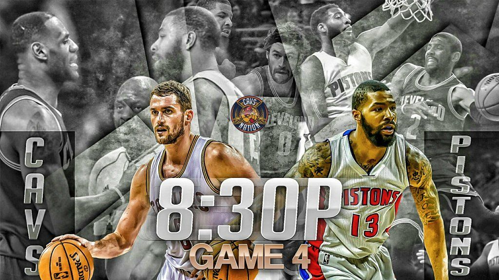 """Cavs Nation on Twitter: """"GAMETIME: Retweet if you're ready for your Cleveland Cavaliers to sweep the Detroit Pistons! #CavsNation #ALLin216 https://t.co/cWIPPrEAXn"""""""