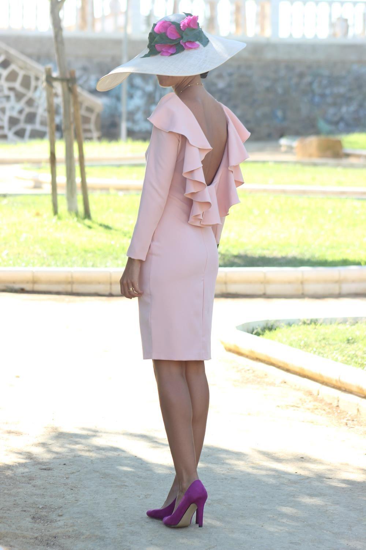 Vestido Alexia Rosa Palo Chuchus Et Moi Ropa Y