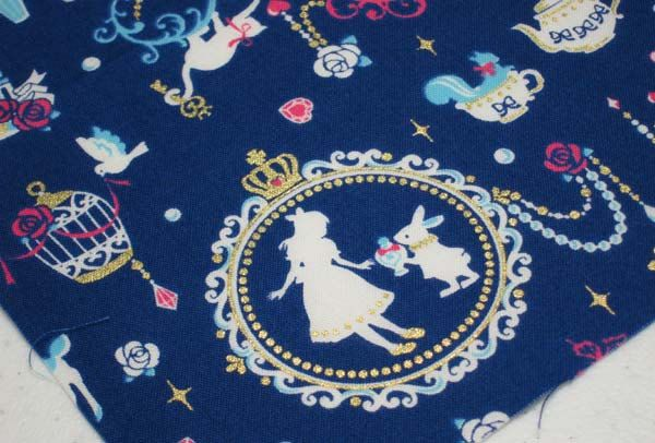 Alice In Wonderland Fabric Alice In Wonderland Alice