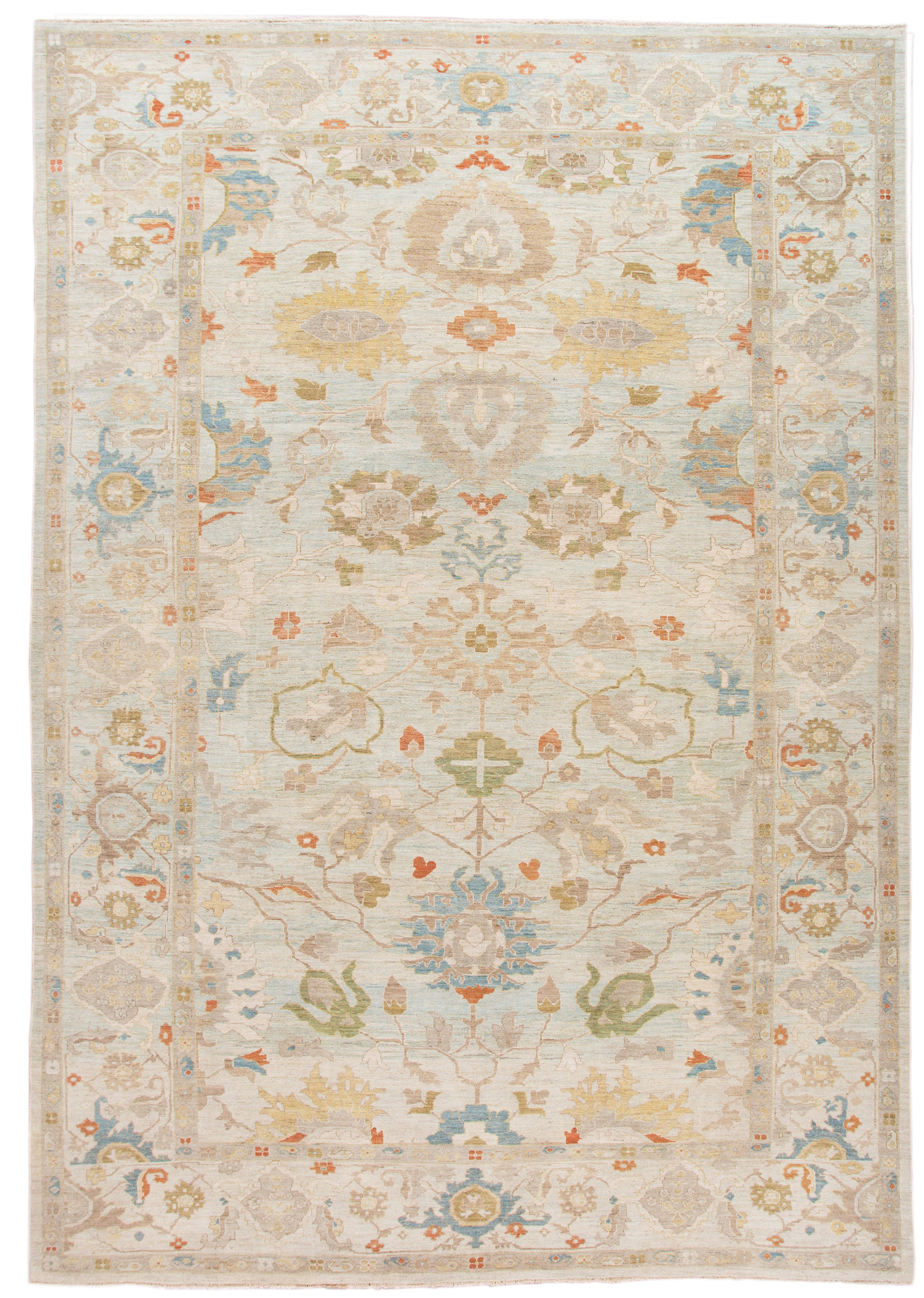 Persian Sultanabad Oversize Rug