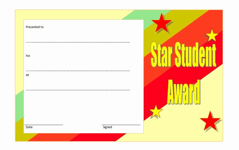 Star Of The Week Printable Best Of Star Student Certificate Templates 10 Best Ideas In 2020 Student Certificates Star Students Student Of The Week