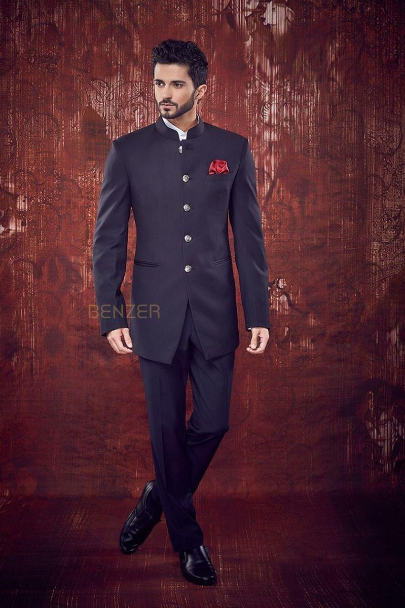 Terrywool Jodhpuri Suit Indian Wedding Suits Men Wedding Suits