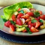 California Strawberry Cucumber Salad