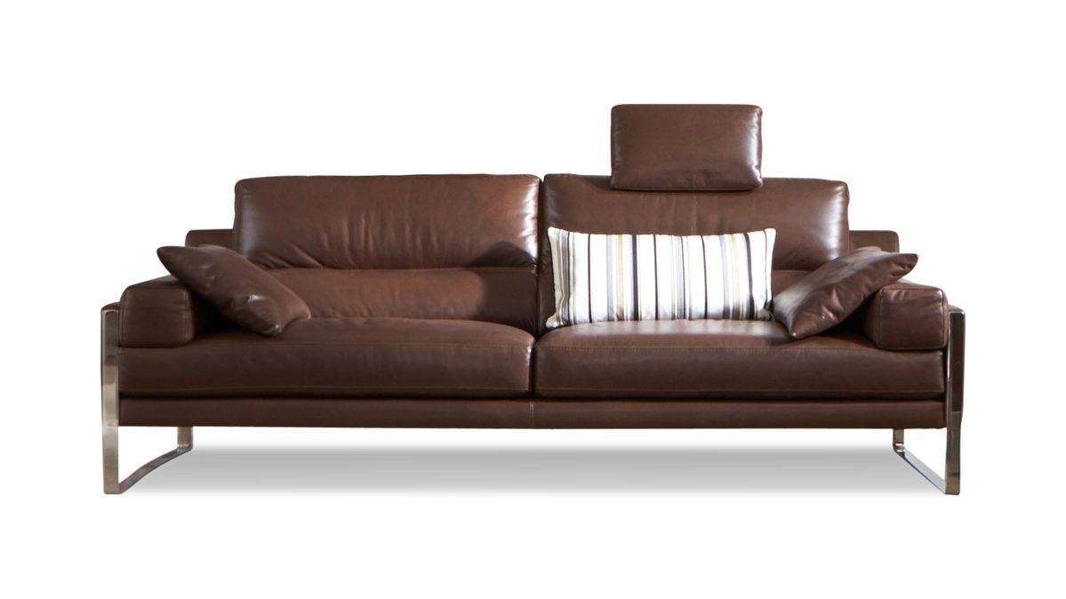 Mobel Boer Coesfeld Markenshops Sofa Enzo Baresi 2 5 Sitzer Ein Ledersofa Im Italienischen Design Calia Italia In Italienisches Sofa Home Decor Home