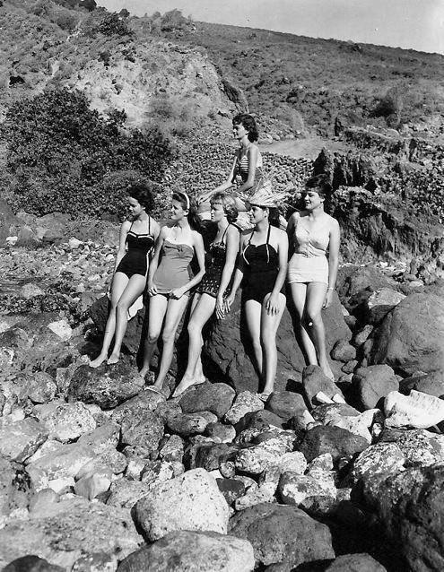 "The Mermaids From ""Woman's Island"" On Saba, Dutch"