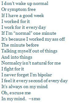 Bipolar Quotes Bipolar Quote  From My Own Mouth Pinterest  Bipolar Quotes