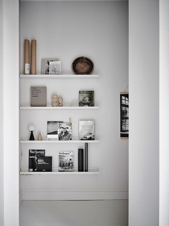DIY Shelves Ideas  my scandinavian home Decoration Pinterest