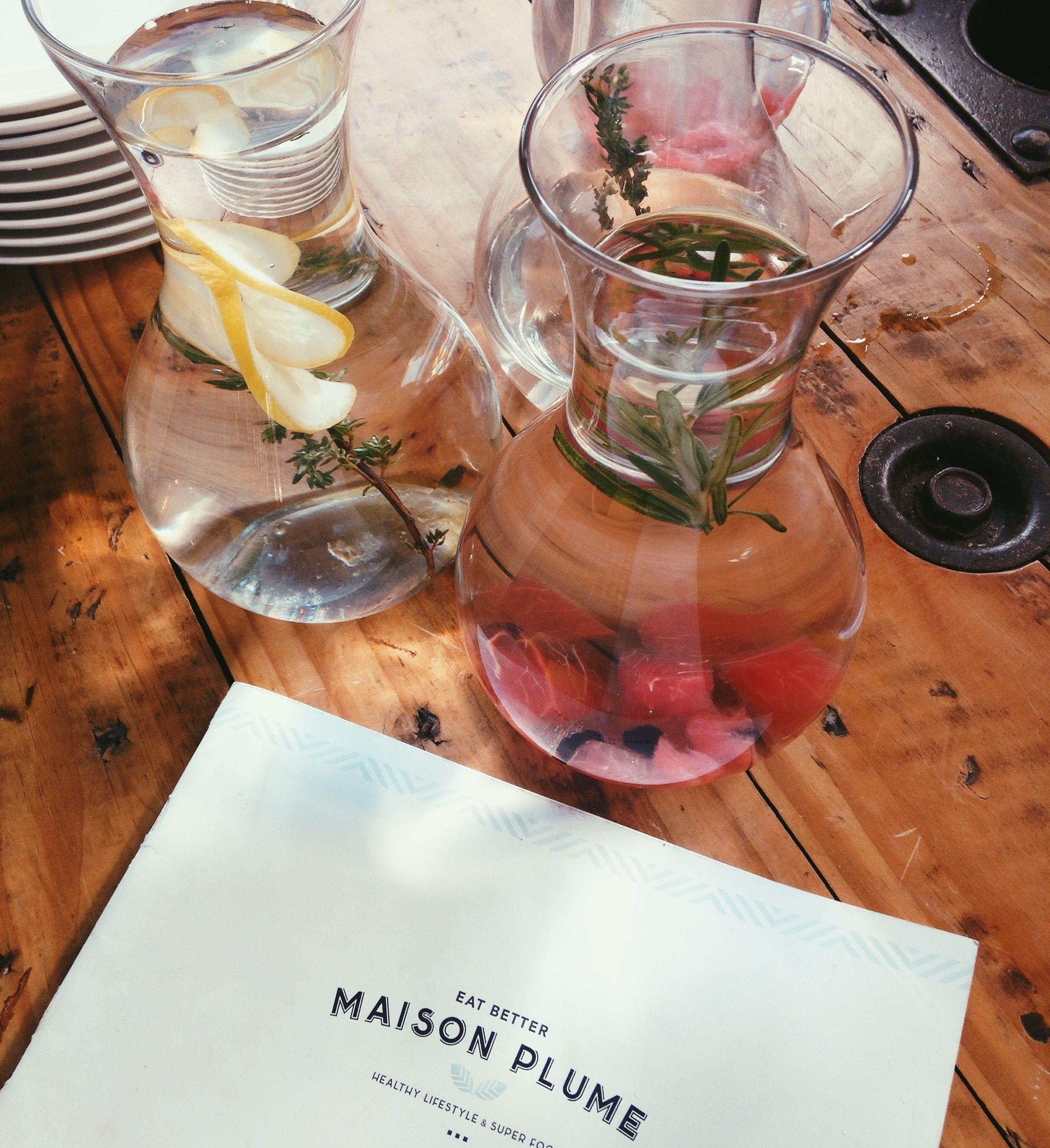 Água saborizada, decor, água com limão,