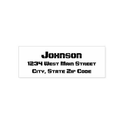 simple return address label self inking stamp professional gifts