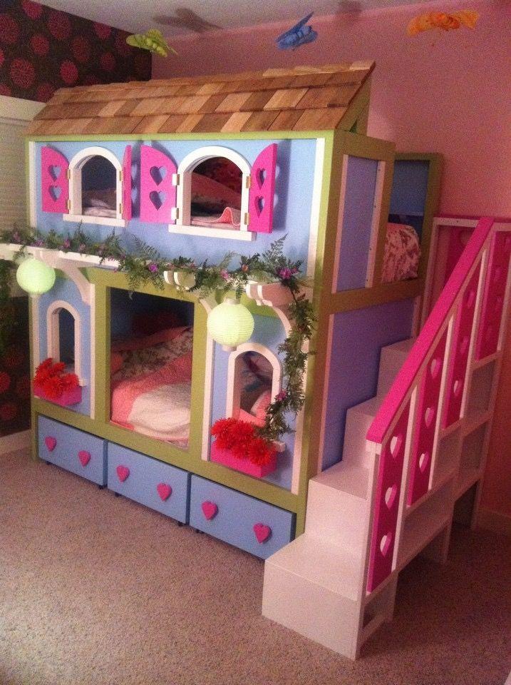 Sweet Pea Bunk Bed Girls Bunk Beds Kid Beds Bunk Beds