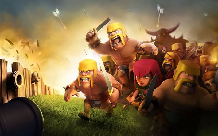 Download Wallpapers Clash Of Clans Characters Strategy Vikings Besthqwallpapers Com Clash Of Clans Wallpaper Clash Of Clans Background Clash Of Clans Wallpapers Clash of clans wallpaper hd 1080p
