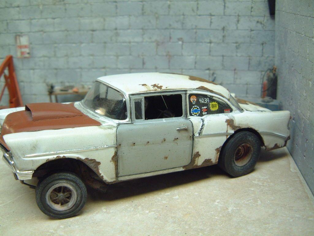 56 Chevy Gasser Model Car Kits Pinterest Model Car