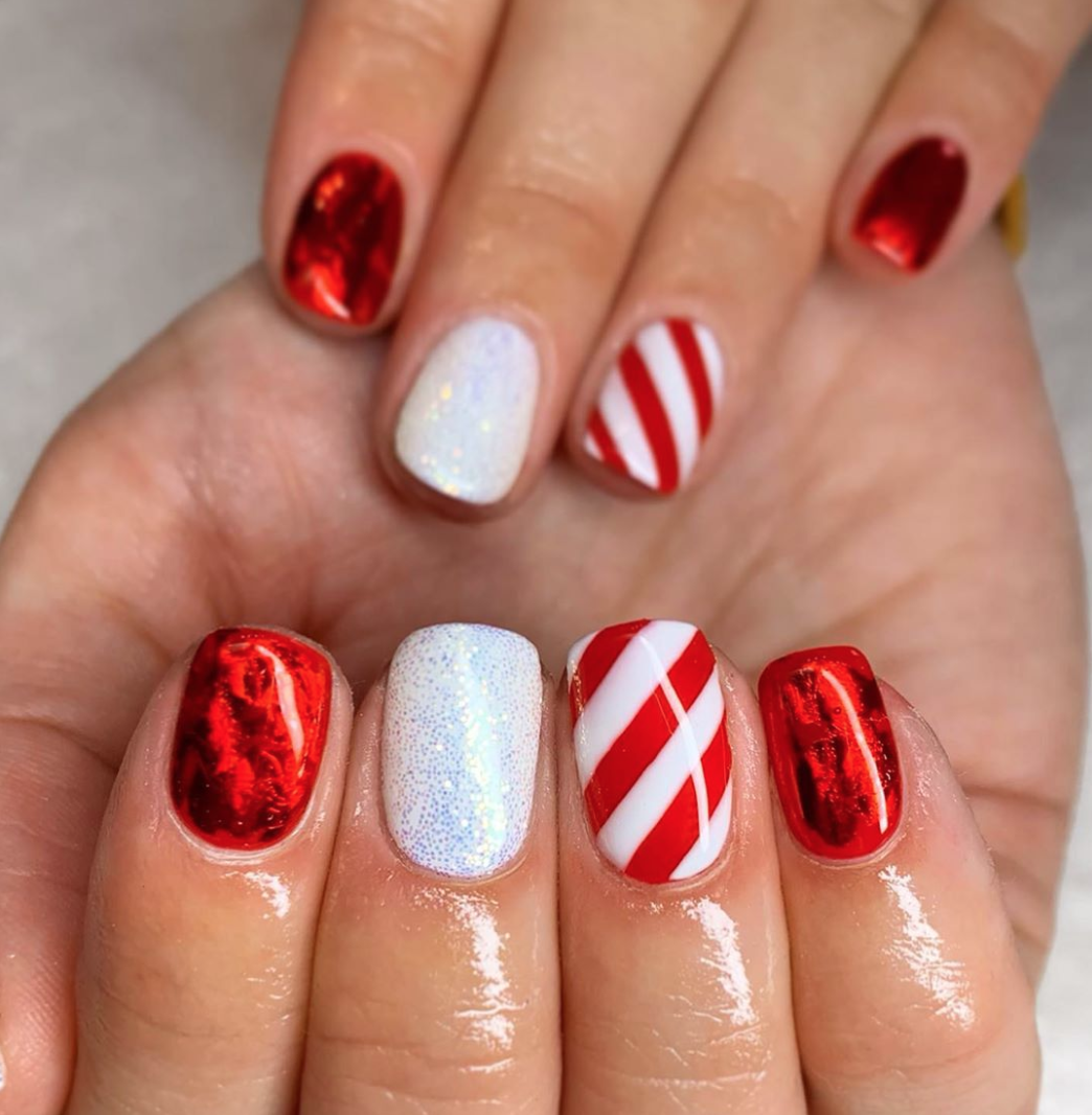 8 Delightful Holiday Nail Designs Skip down Candy