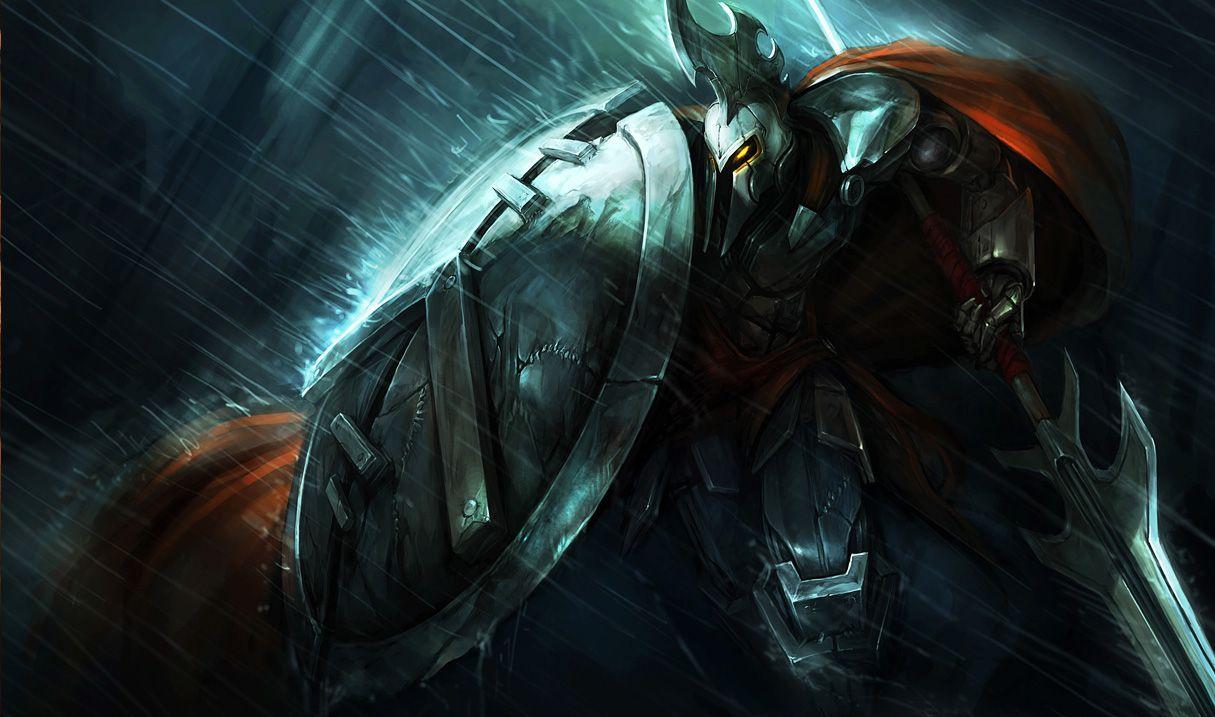 Full Metal Pantheon Liga Dos Lendarios League Of Legends