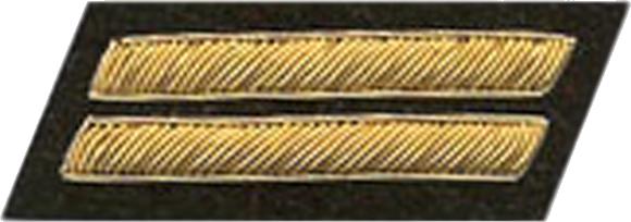 Confederate States of America First Lieutenant insignia