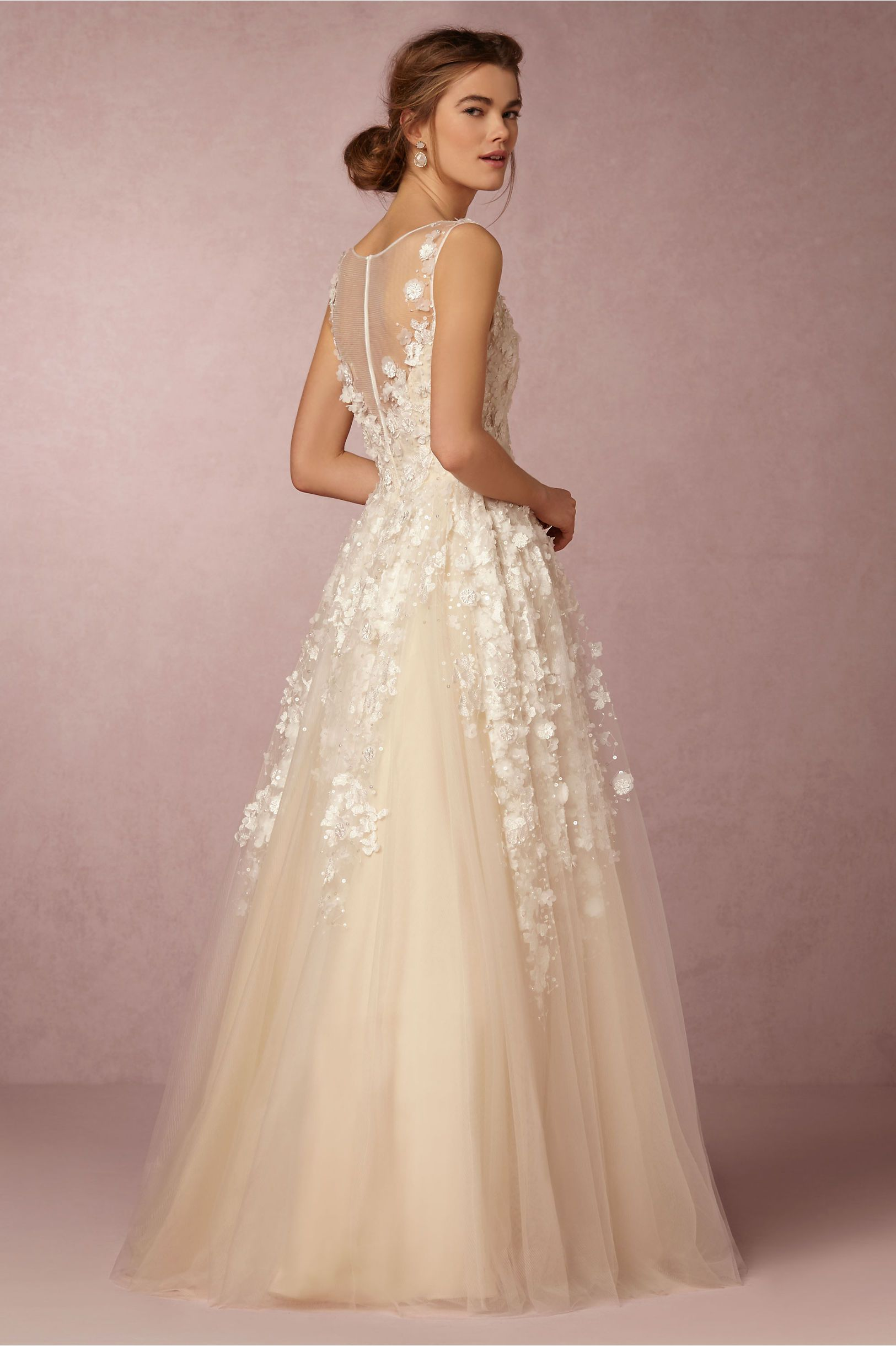 061d3741b83 Fable Gown in Bride Spring 2016 Lookbook at BHLDN