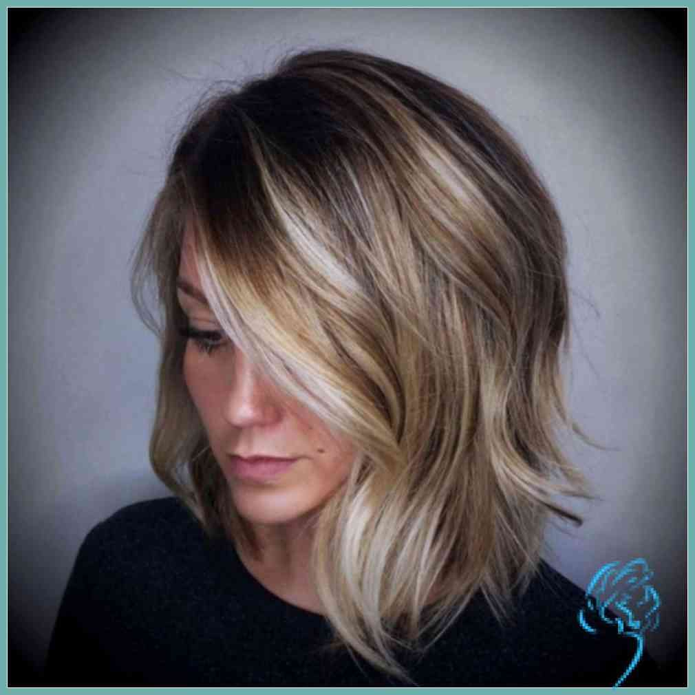 Stufen Haarschnitt Mittellang Frisuren Stufig Mittellang Schon