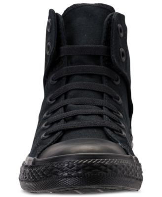 332dd78e211 Converse Boys  Chuck Taylor All Star Easy Slip High Top Casual Sneakers  from Finish Line - Black 5.5
