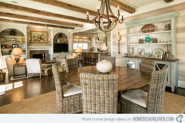 Charmant 15 Beach Themed Dining Room Ideas