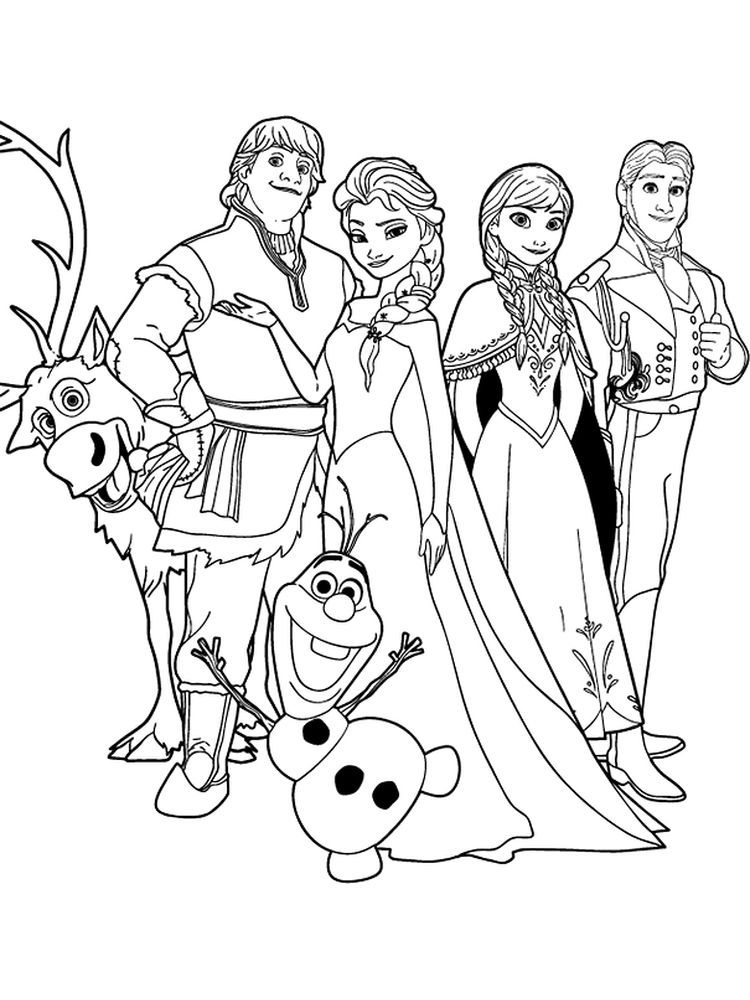 Frozen Coloring Pages Pdf Who Doesn T Know The Frozen Animated Film A 2013 3d Film Which Is The Frozen Coloring Disney Coloring Pages Frozen Coloring Sheets