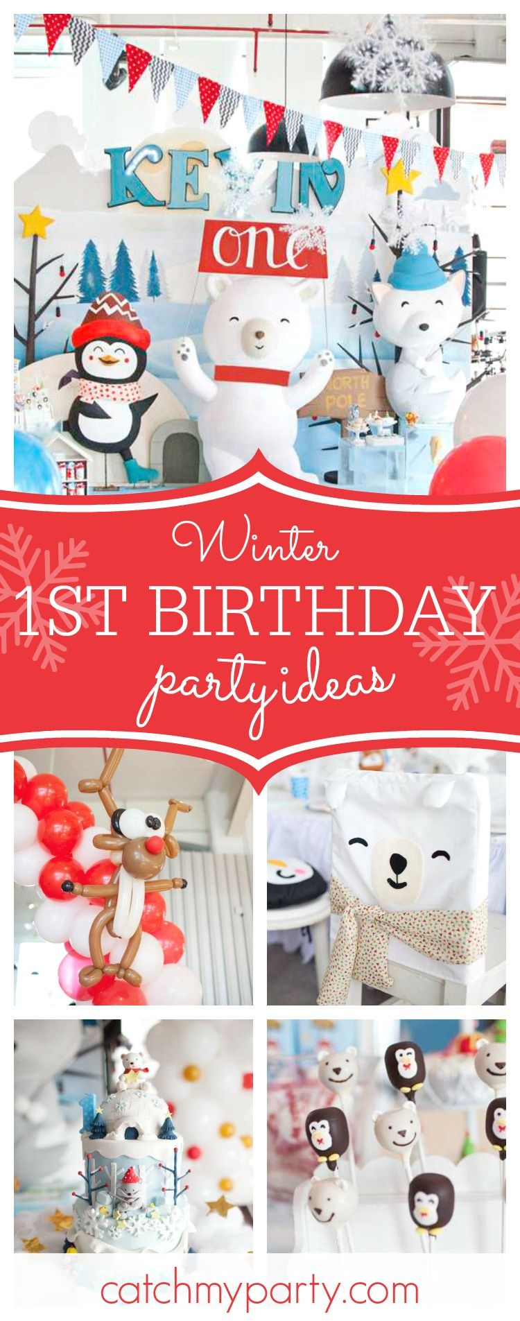 "Winter / Birthday ""Hello cold days!"" Snow birthday party"