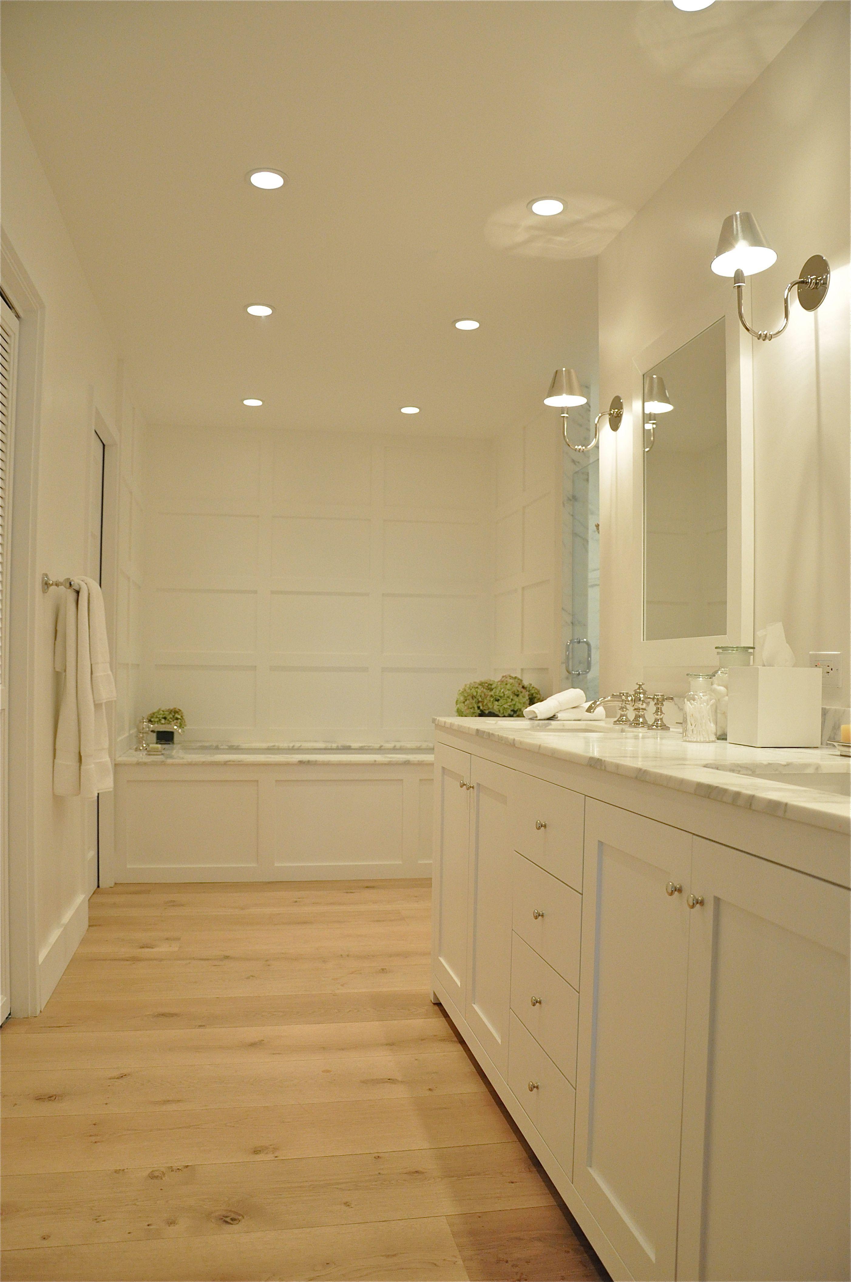 Wood Floors In Bathroom Lots Of Polyurethane And It Should