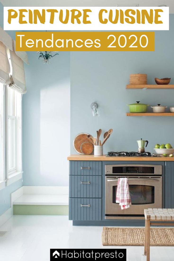 Peinture de cuisine : 17 couleurs tendances en 17  Peinture