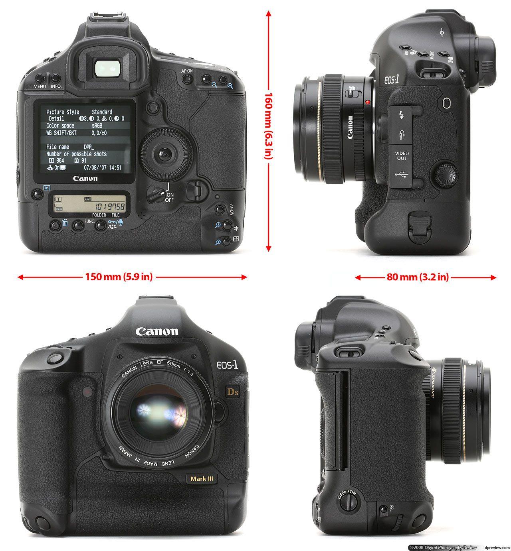 Canon 5d The Canon Eos 1ds Mark Iii Is Canon Camera Nikon D500 Photography Words