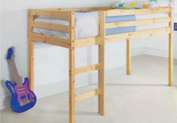 Bed On Stilts Wood In 2019 Bed On Stilts Bed Room