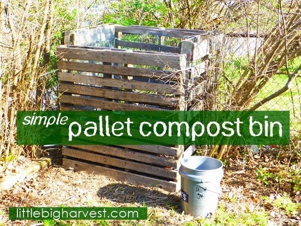 Pallets Are Free Use Them To Start Composting This Project Could