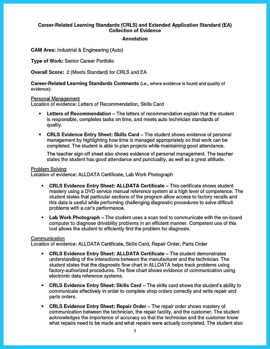 Auto Mechanic Resume Sample Classy Cool Writing A Concise Auto Technician Resume Check More At Http .