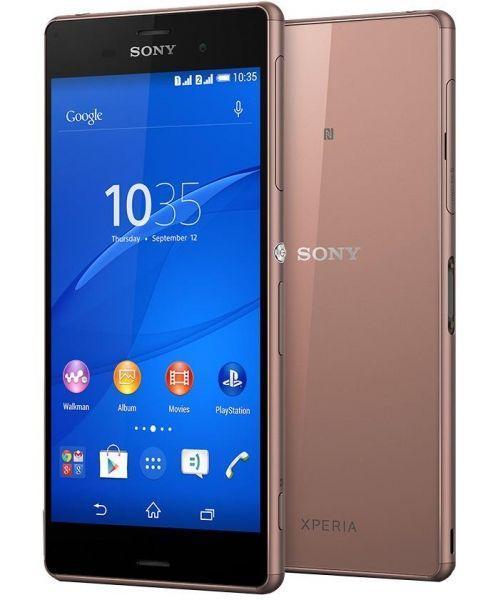 Sony Xperia Z3 Dual Sim Miedziany Smartfon Telefon Fablet Sony Xperia Z3 Sony Xperia Smartphone Accessories