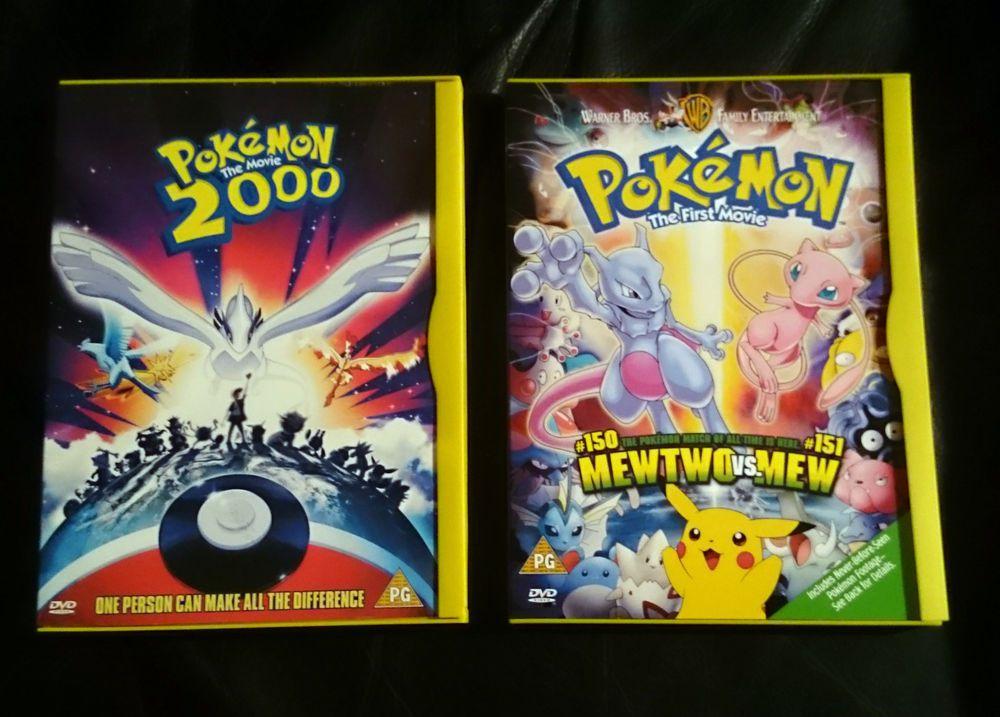 Pokemon The First Movie Pokemon The Movie 2000 Rare Dvd Region 2