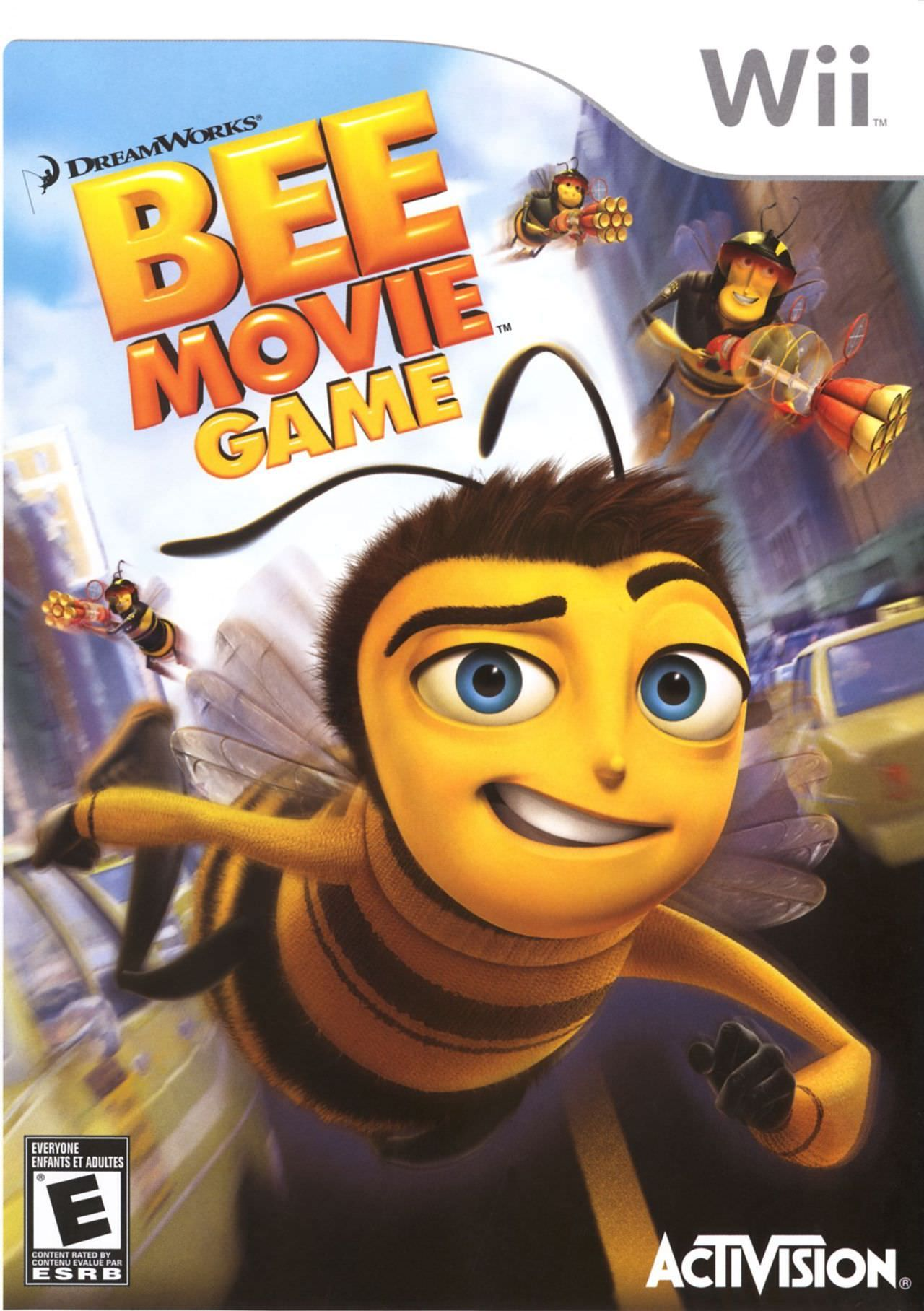 Pin By Aaron Viles On Nintendo Bee Movie Game Bee Movie Movie Game